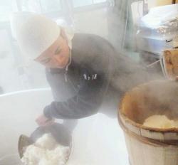 雁木 蒸米とり